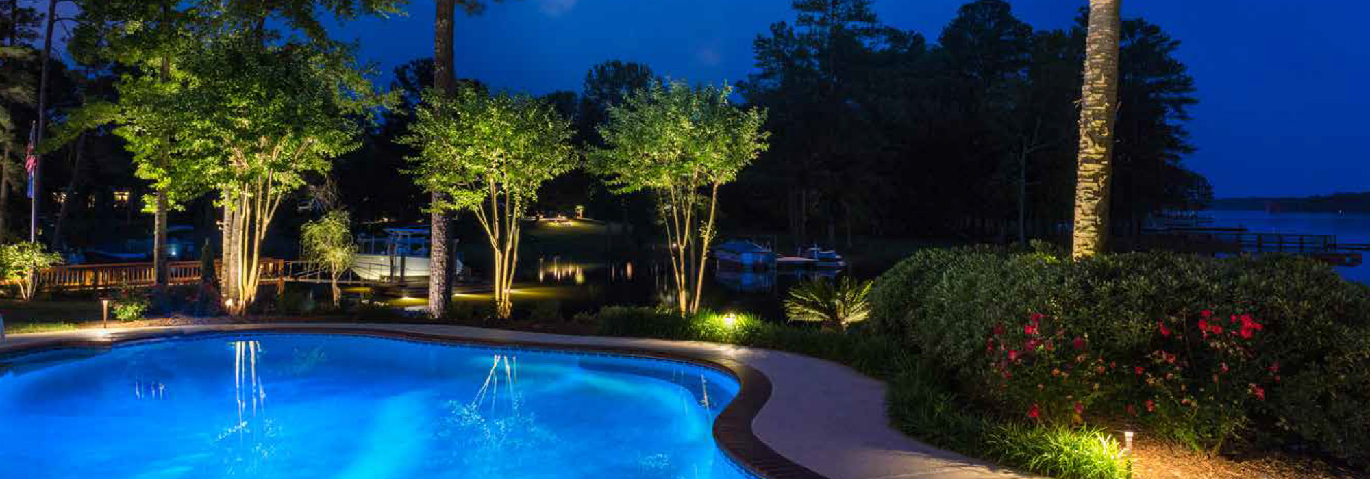 Outdoor lighting perspectives shines during the lighting the installation is where outdoor lighting perspectives shines the most from pools to playgrounds backyard grills to gazebos landscapes to lounge areas aloadofball Gallery