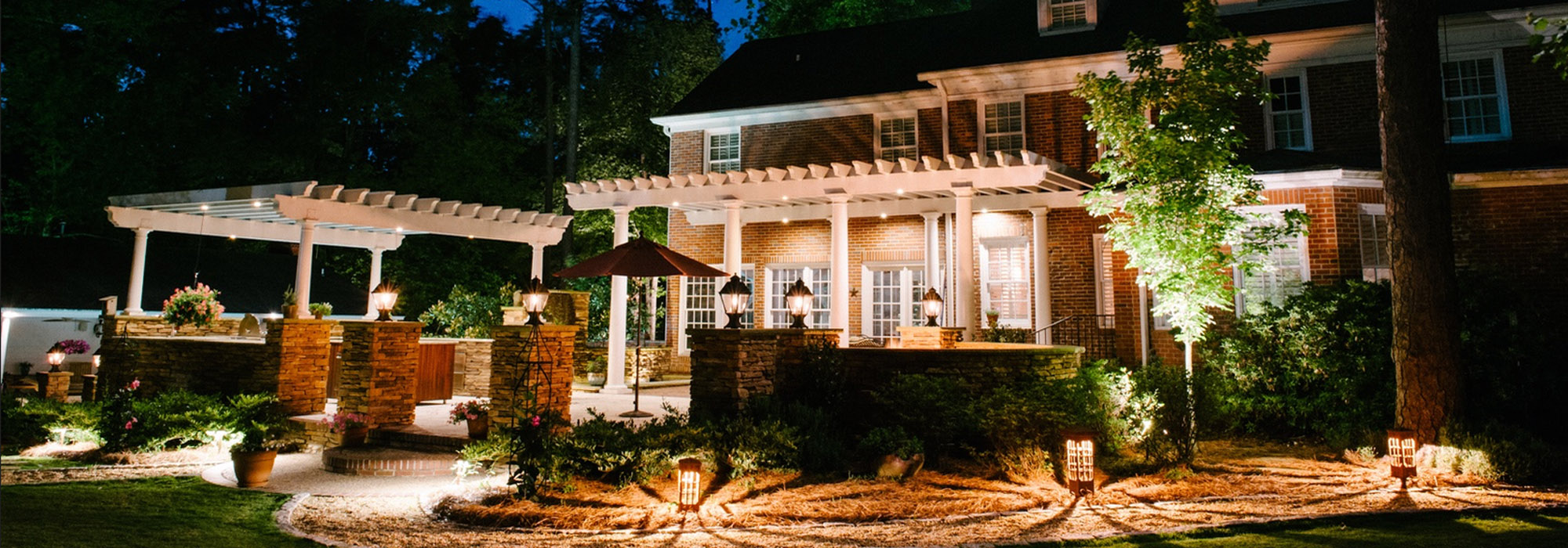 Im renovating my outdoor space should i hire my landscape company at outdoor lighting perspectives of virginia beach we work with you to create a custom design for your property highlighting the features you find most aloadofball Image collections