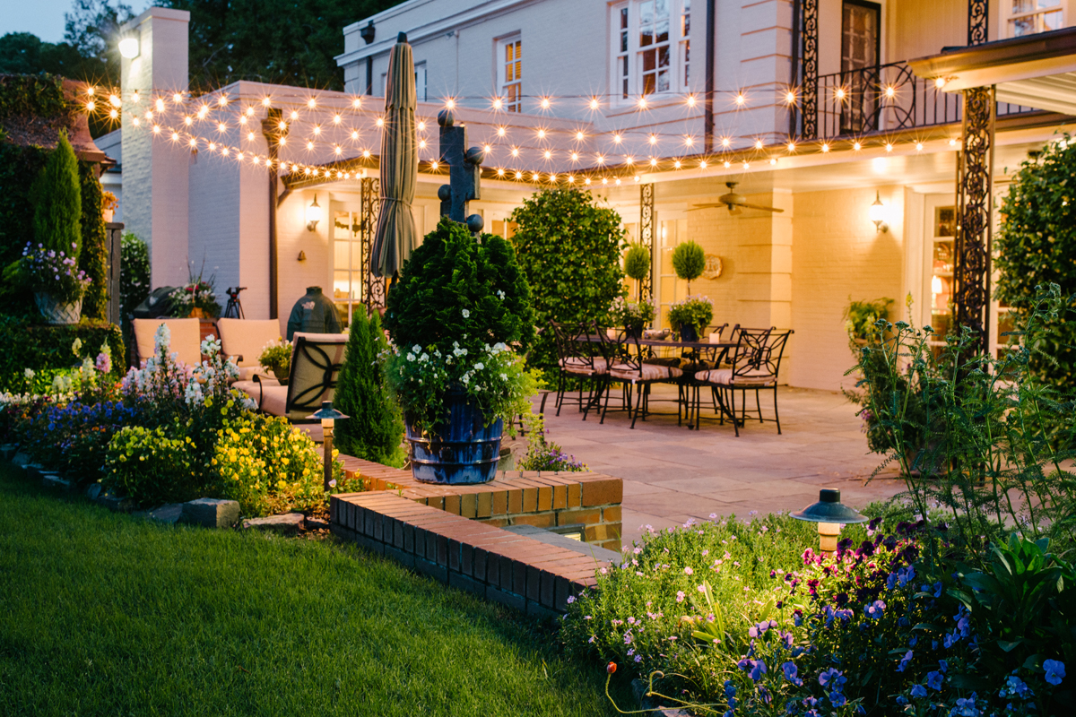 They are versatile LED and with Outdoor Lighting Perspectives of Greenville you get a gorgeous look with custom wired LED lighting professional design ... & Greenville Patio Lighting Company