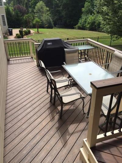 Huntersville NC deck cleaning