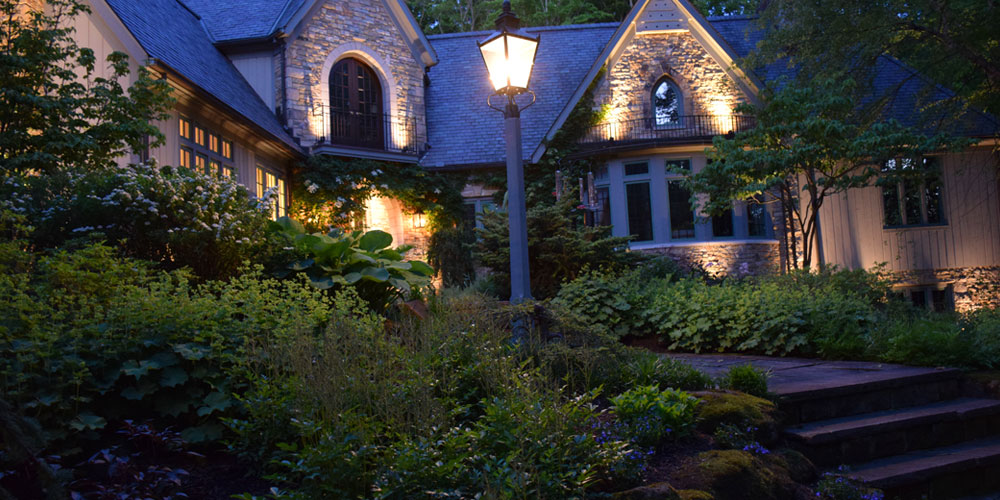 Boston Heights OH outdoor lighting