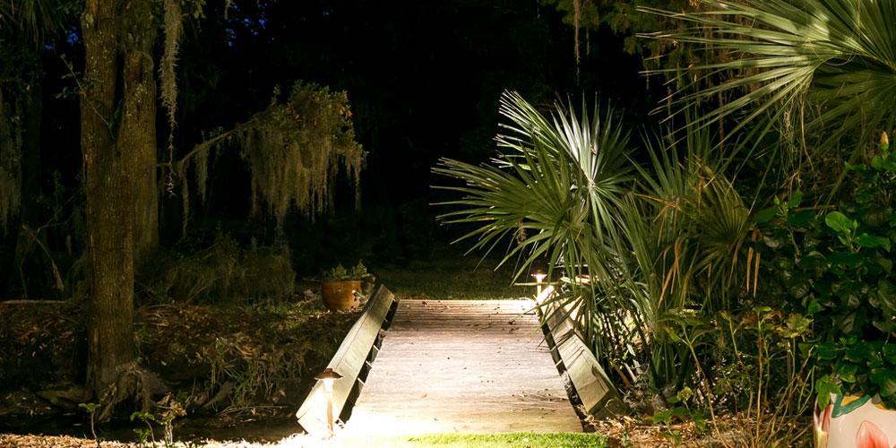 deck lighting Charleston SC