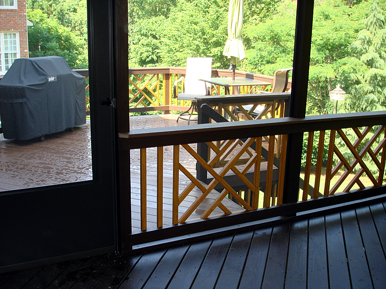 Greensboro deck and screened porch