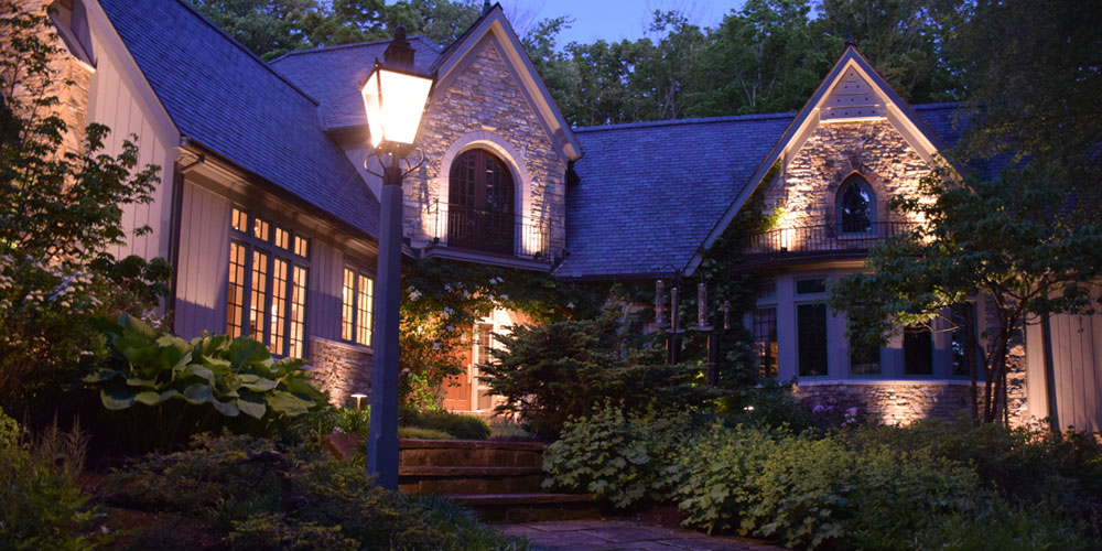 outdoor lighting company Aurora OH