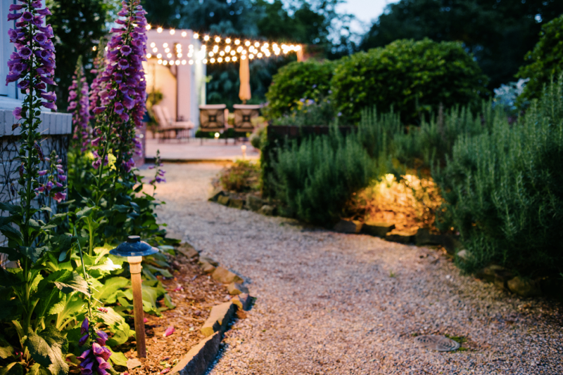 outdoor garden lighting Virginia Beach