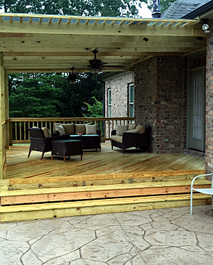 new wood redecking