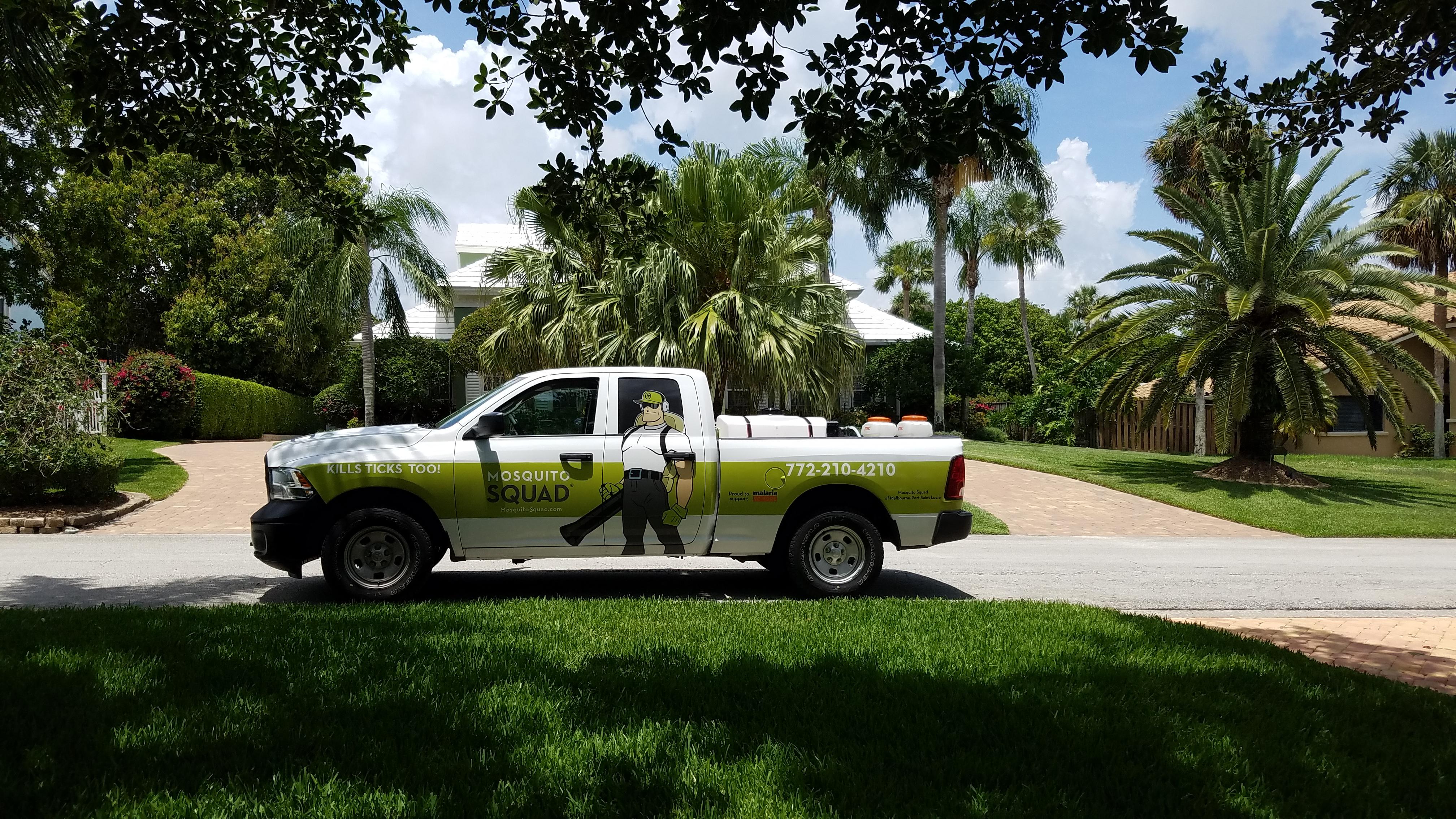 Mosquito Squad Truck