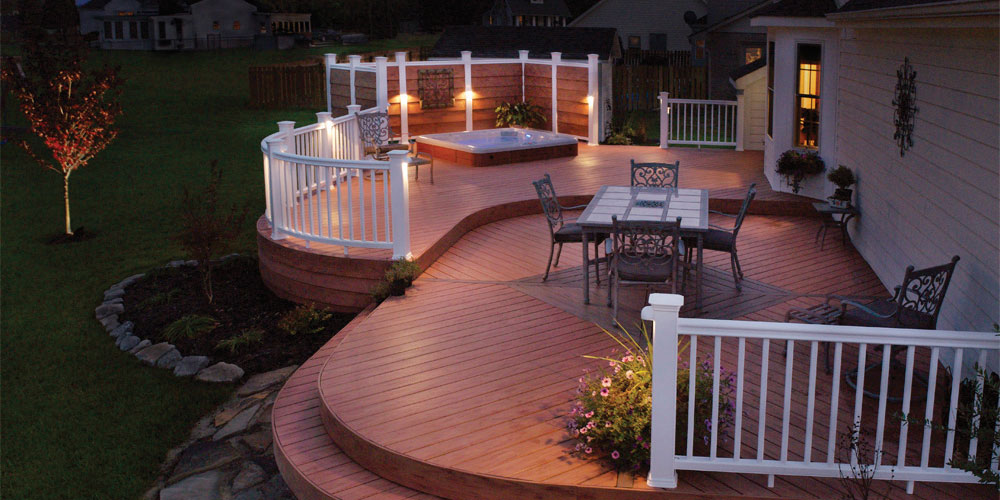 deck lighting Columbia SC