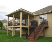 Shawnee And Lenexa Ks Porches And Decks