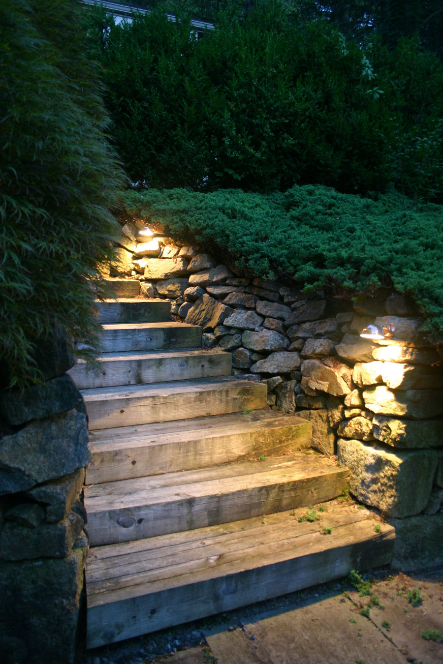 illuminate your home's dark sidewalks