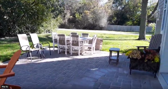 Belgard Paver Patio with Multiple Seat Walls in Wheaton, IL.  Thumbnail