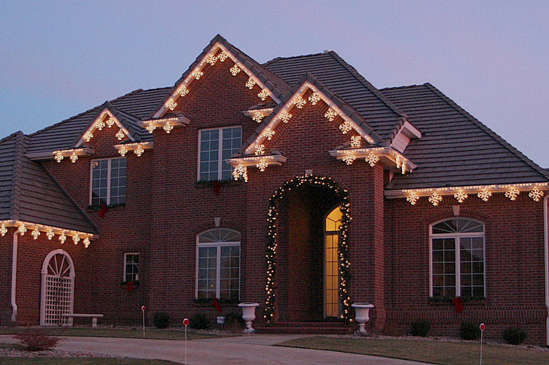 Led Outdoor Holiday Lights Holiday lighting in asheville is best when you start at the top classic holiday lights modern holiday style workwithnaturefo