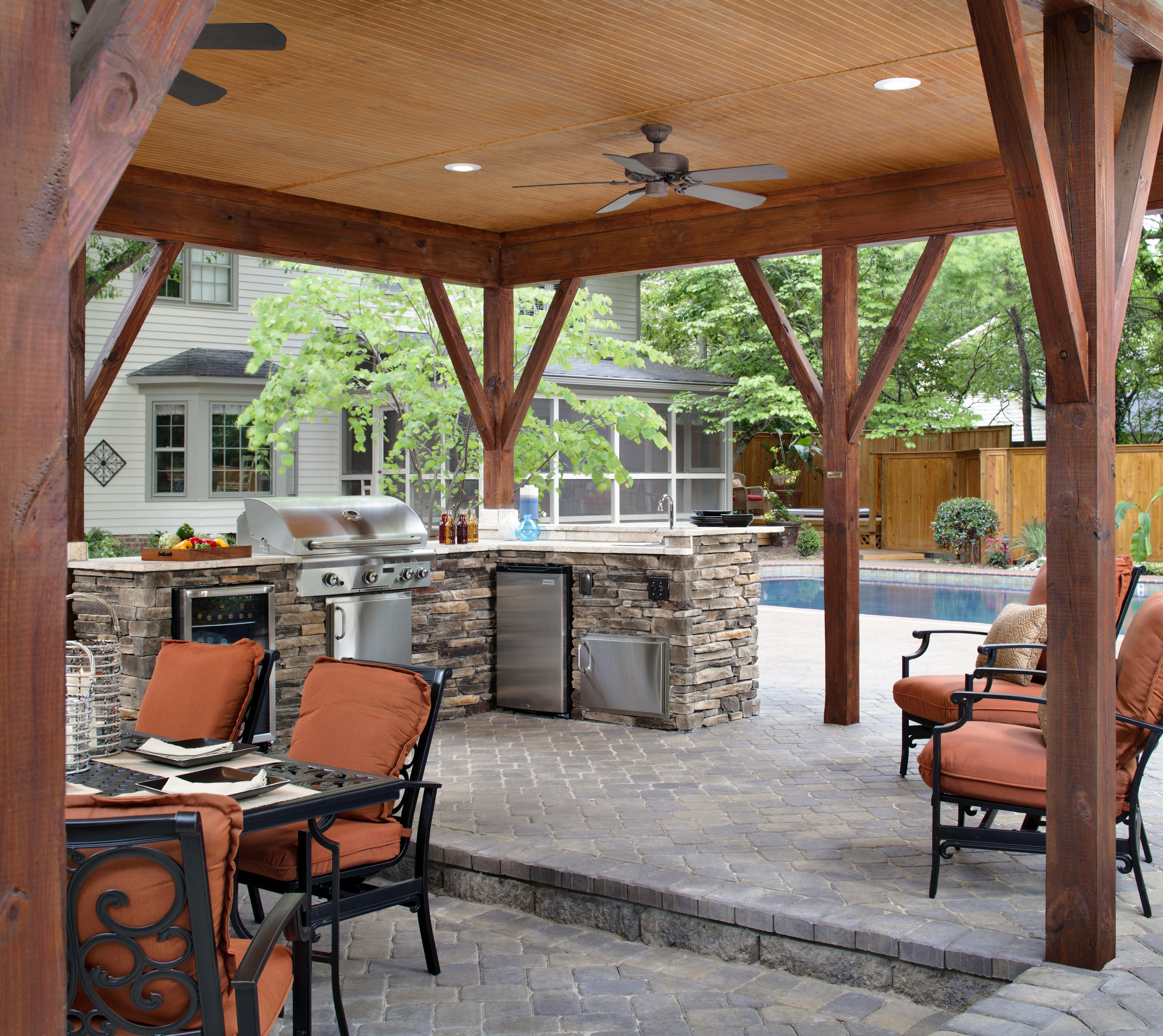 outdoor kitchen reston