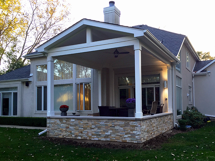 trusted Chicagoland porch contractor