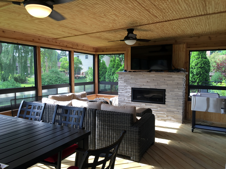 trusted screened porch contractor