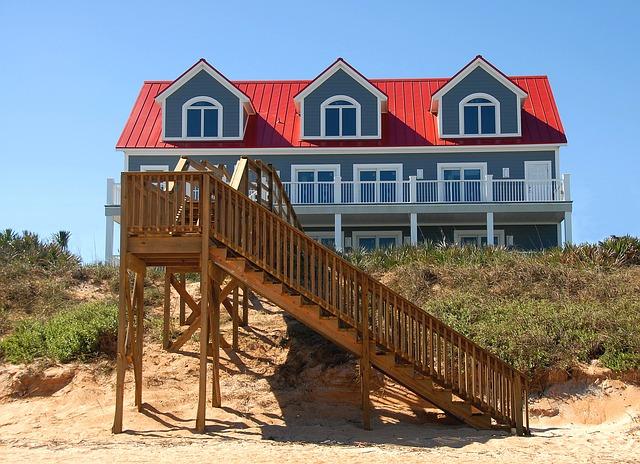 Carolina beaches vacation rental renovations