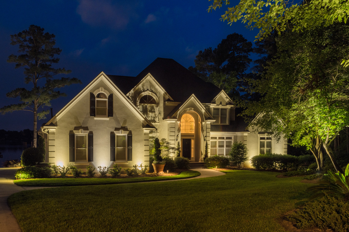 architectural outdoor lighting asheville nc