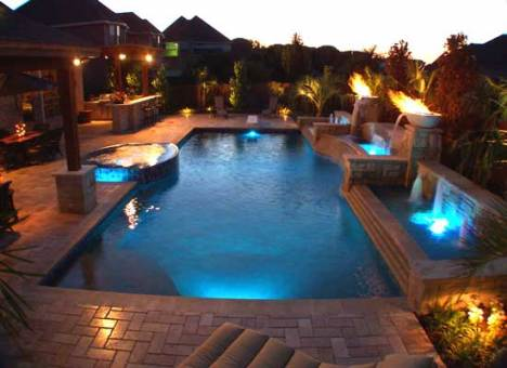 Would You Use Your Pool More At Night If You Had Beautiful Outdoor Lighting  Set Up In The Area Around Your Pool?