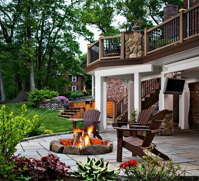 Nashville patio and deck