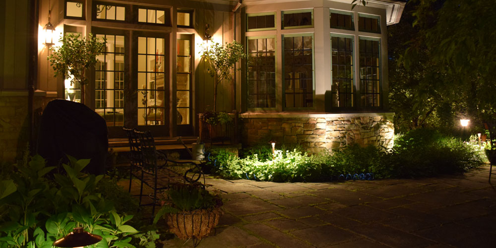 outdoor lighting company Chagrin Falls OH