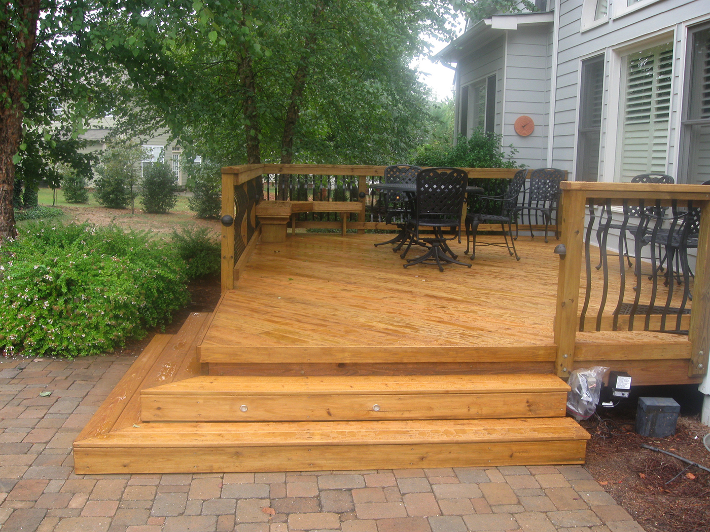 Bon Why Not Build A Wood Deck?