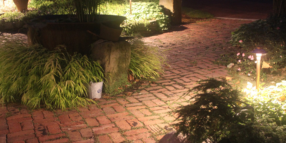 landscape lighting in Shaker Heights OH