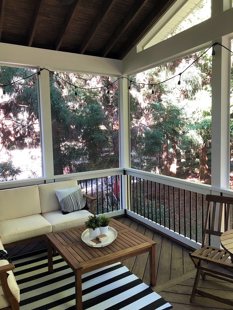 Winston Salem screened porch