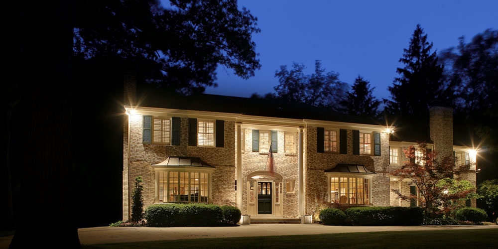 landscape lighting in Seven Oaks SC