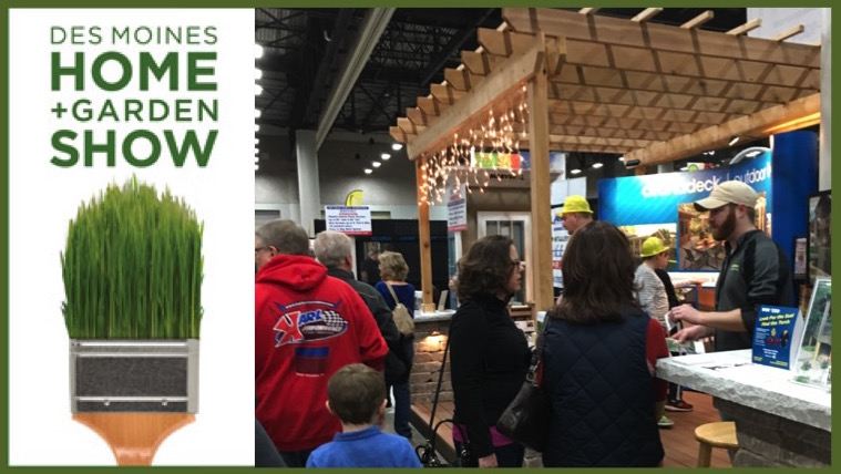 Des Moines Home + Garden Show Thursday, February 9th Thru Sunday, February  12th. The Home + Garden Show Is The Traditional Show Promoted By  Marketplace ...