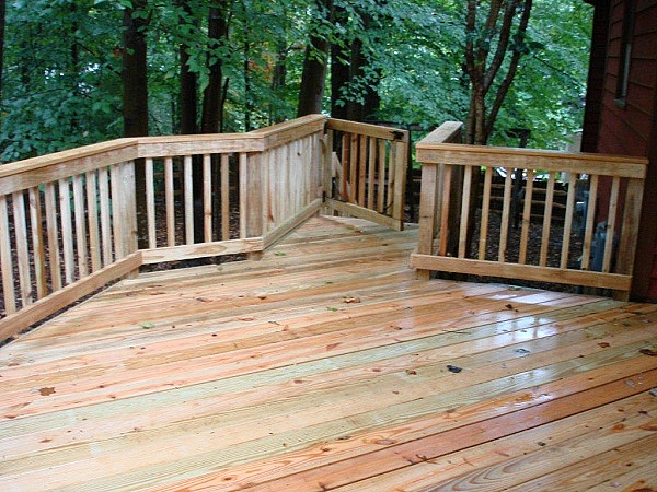 Winston Salem wood deck