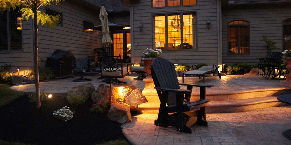 patio lighting in Solon OH