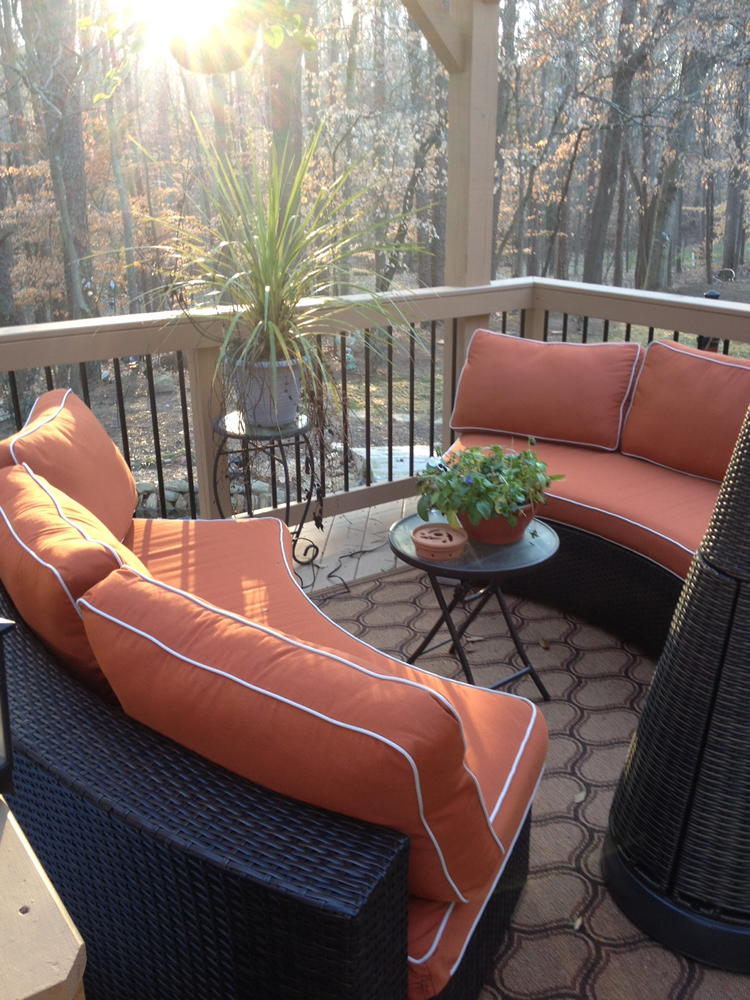 Waxhaw back porch
