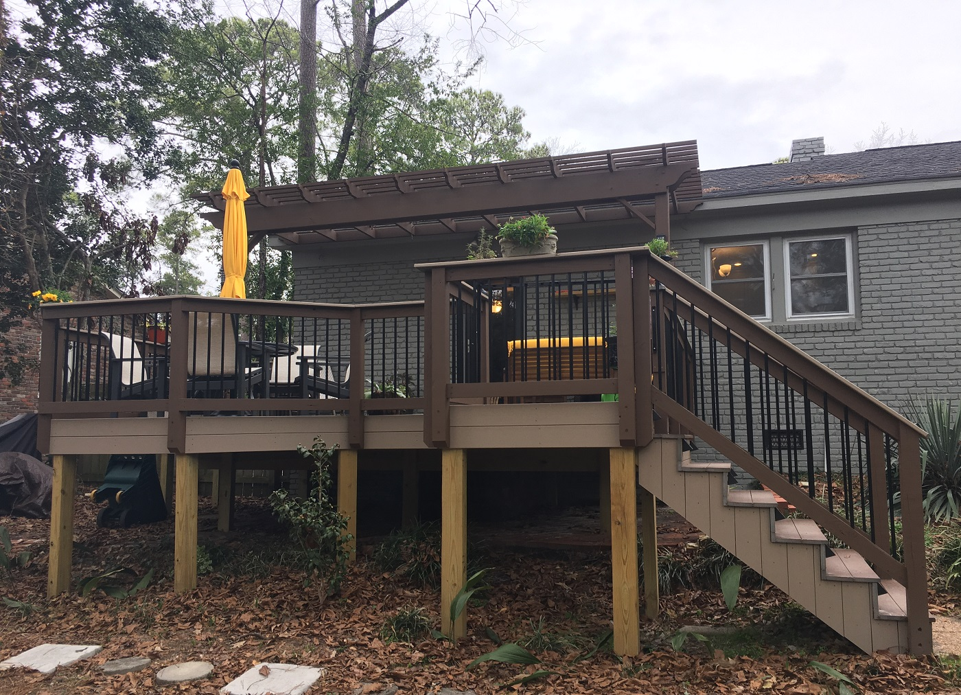 New-TimberTech-deck-addition-in-Columbia-SC-by-Archadeck