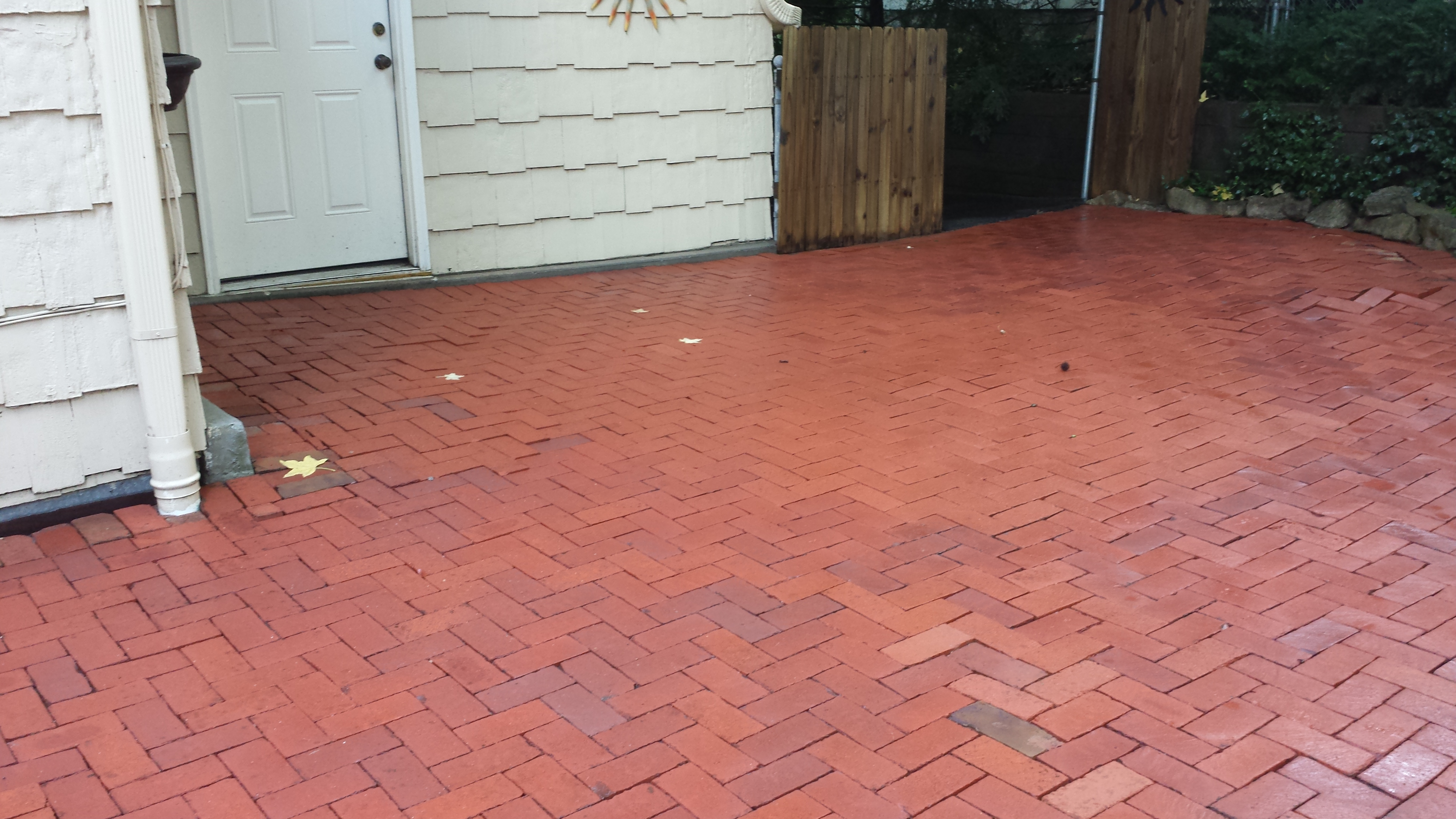 After the Renew Crew Clean - Pavers