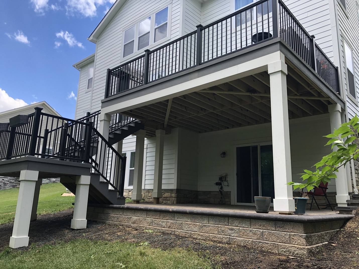 Westerville-deck-and-patio-combination
