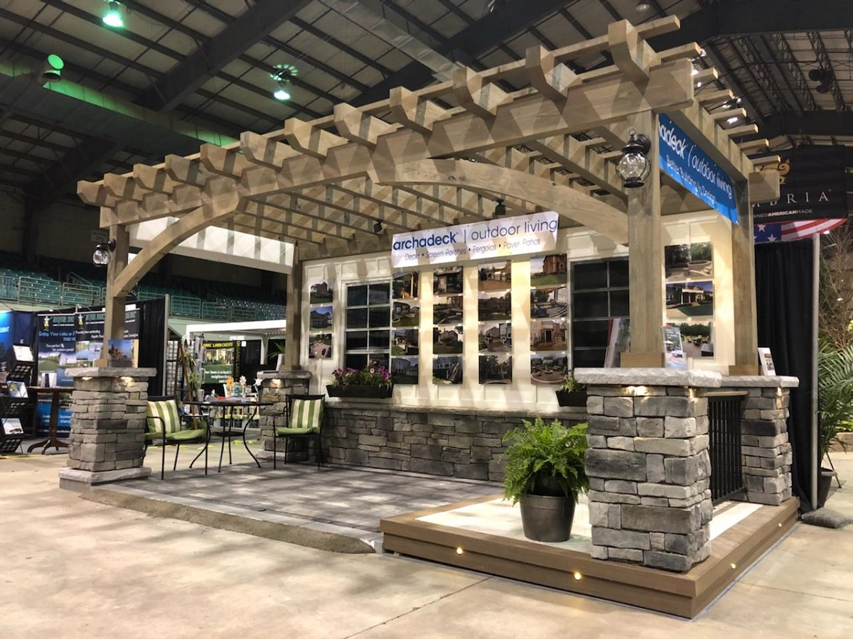 ... Columbus Dispatch Home U0026 Garden Show At The Ohio Expo Center. The Show  Runs February 17th Through February 25th. Spring Is Right Around The Corner  And ...