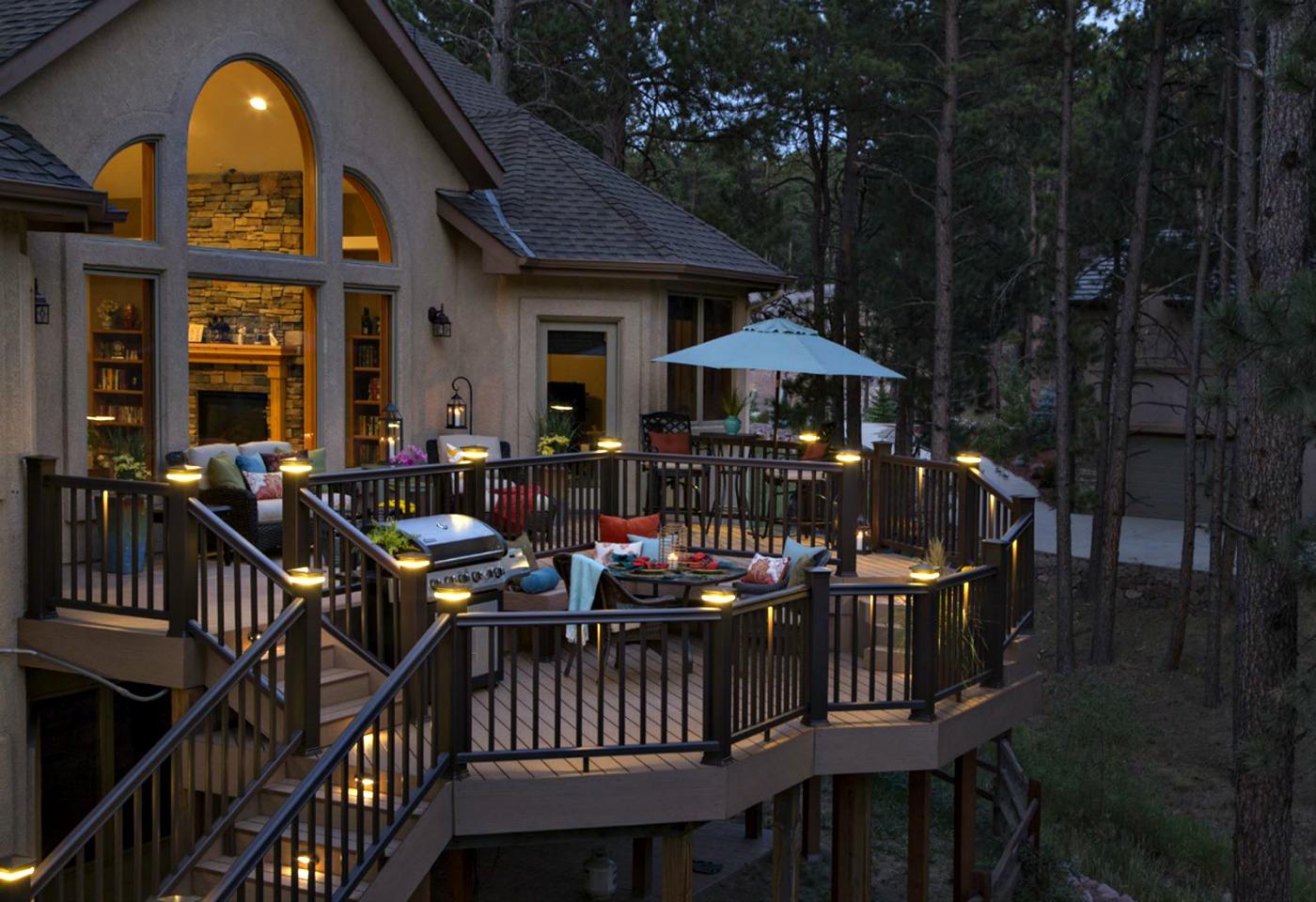 outdoor lighting for decks. Beautiful Oakville Ontario Decks Start With Composite Decking Outdoor Lighting For D