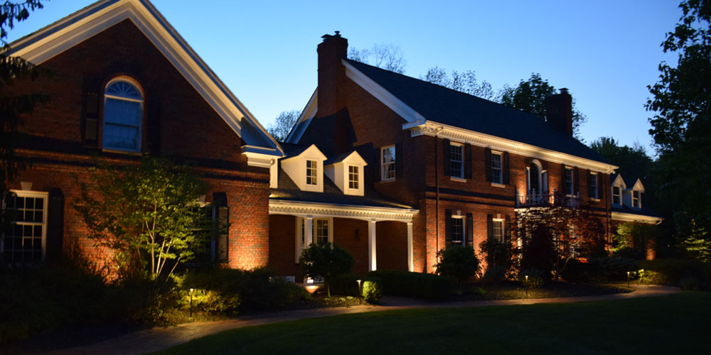 architectural uplighting Chagrin Falls OH