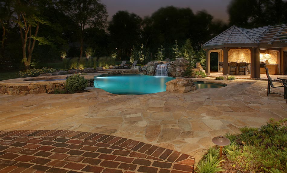 pool area lighting installer in Charleston SC