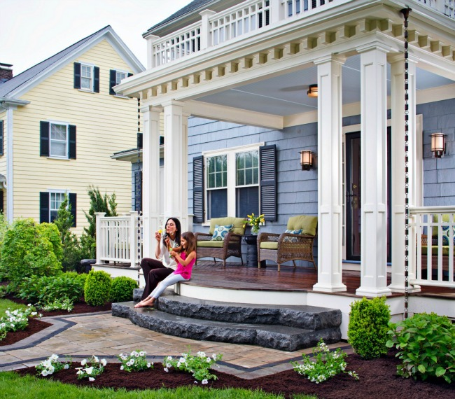 Elevated Front Porch Designs : Halifax porch design projects
