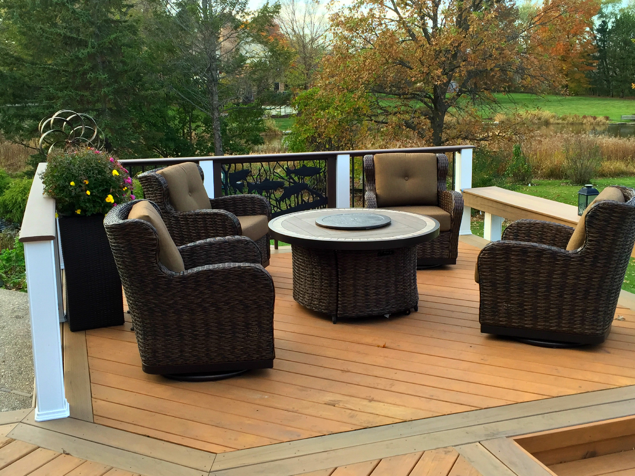 Wood Or Low Maintenance Materials   Whatu0027s Best For Your Chicagoland Deck  Design?