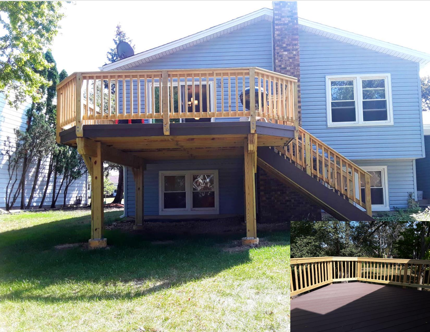 Timber Tech Low Maintenance Deck by Westmont, IL Deck Designer Thumbnail