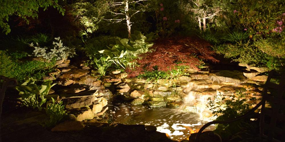 landscape lighting design Chagrin Falls OH