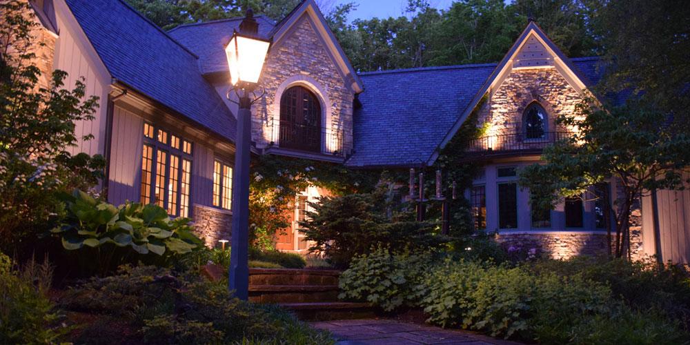 outdoor lighting Chagrin Falls Ohio