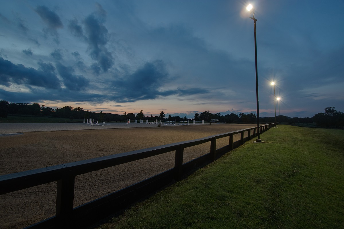 Led Lights Give Capitol Tree Cooler >> Shedding Light On An Equestrian Horse Arena To Be Enjoyed Well