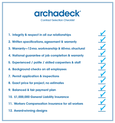 Archadeck-contractor-checklist