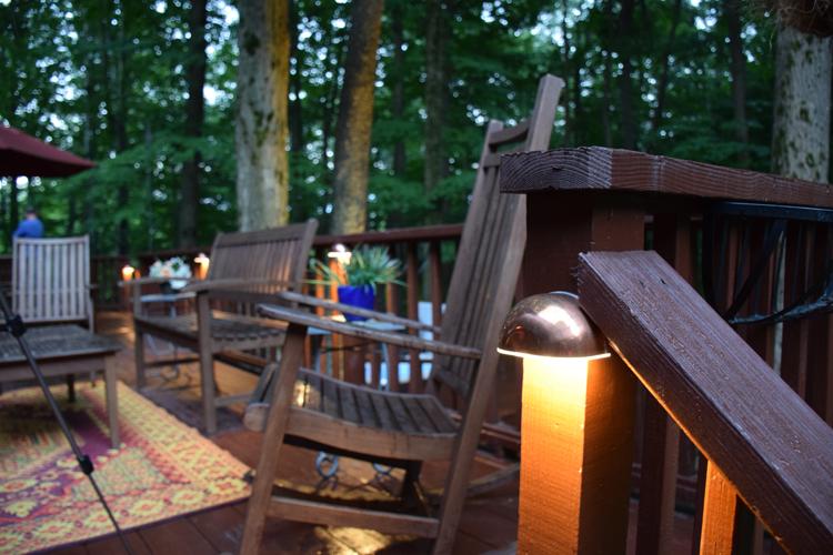 deck lighting Solon Ohio