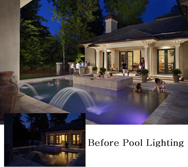 suwanee pool lighting design