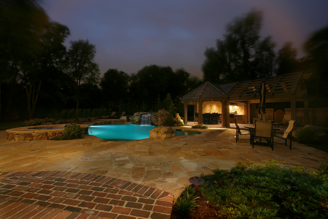 pool lighting Germantown TN