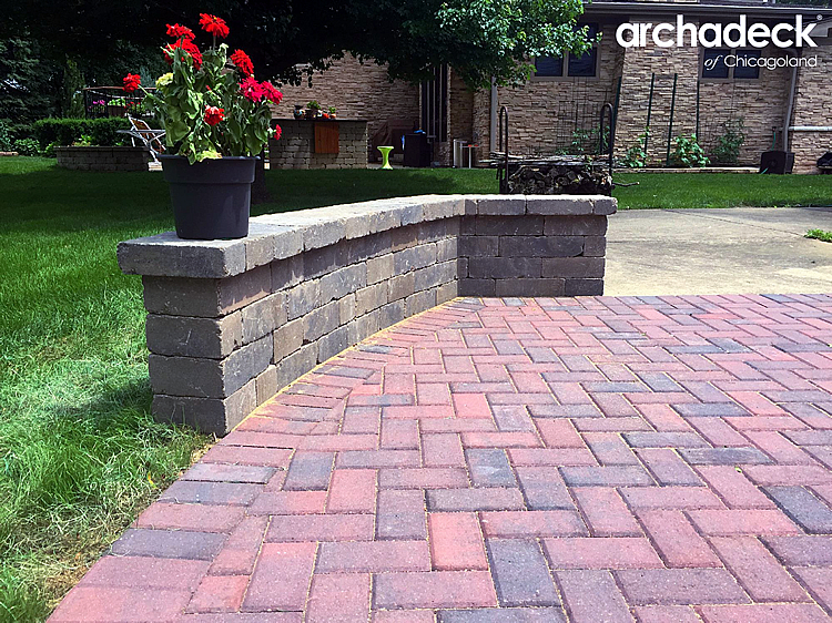 Paver Patio Ideas And Expaning Paver Patios Archadeck Outdoor Living